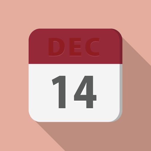 シンプルなカレンダーのアイコン その2