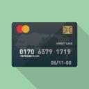 クレジットカードのアイコン素材