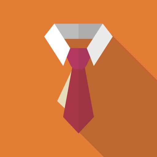 ネクタイのアイコン素材