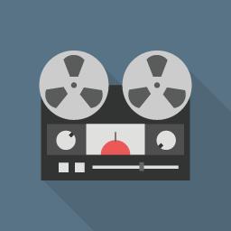 Tape Flat Icon Design フラットアイコンデザイン
