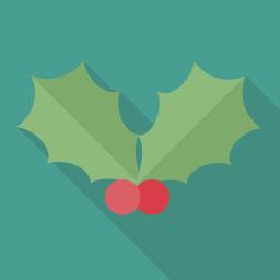 Christmas Flat Icon Design フラットアイコンデザイン