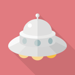 Ufoのアイコン素材 Flat Icon Design フラットアイコンデザイン