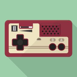 Game Flat Icon Design フラットアイコンデザイン