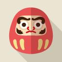 Youtube風の再生アイコン素材 Flat Icon Design フラットアイコンデザイン