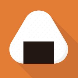 おにぎりのアイコン素材 Flat Icon Design フラットアイコンデザイン