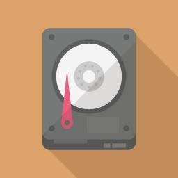 ハードディスクのフラットアイコン素材 Flat Icon Design フラットアイコンデザイン