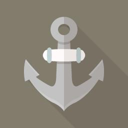 碇 イカリ のフラットアイコン Flat Icon Design フラットアイコンデザイン