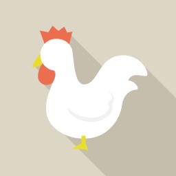 鳥 Flat Icon Design フラットアイコンデザイン