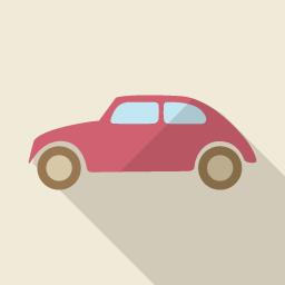車のアイコン素材 自家用車 Flat Icon Design フラットアイコンデザイン